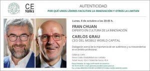 Fran Chuan presenta 'Autenticidad' en el Círculo Ecuestre de Barcelona