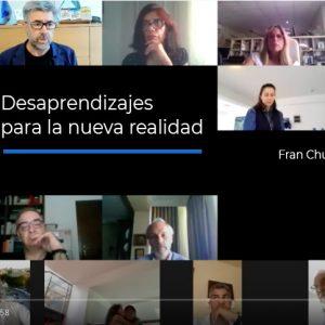 Desaprendizajes para la nueva realidad. Charla-coloquio entre Fran Chuan y Pere Brugal